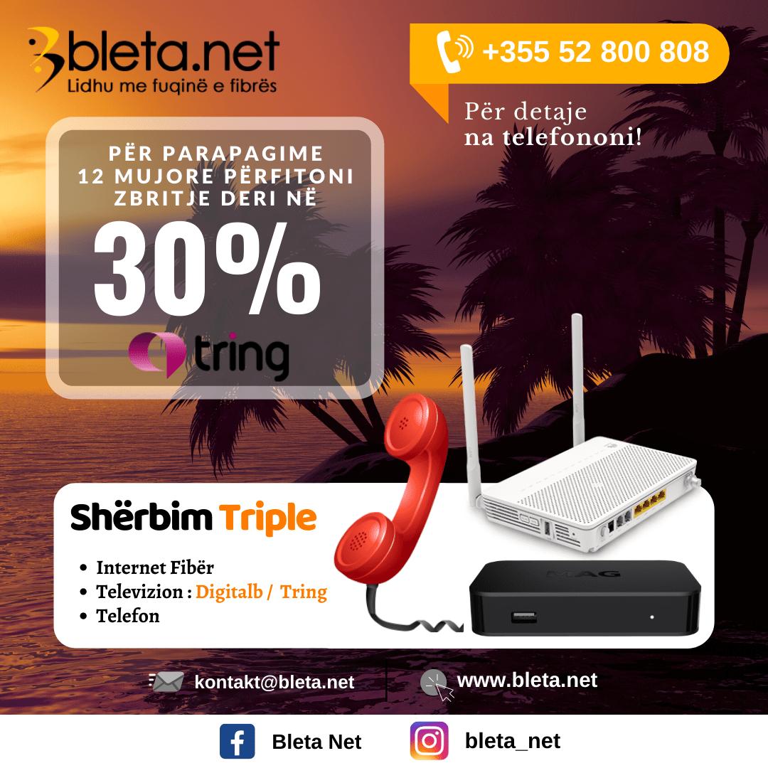 oferte tring tv plus internet fiber