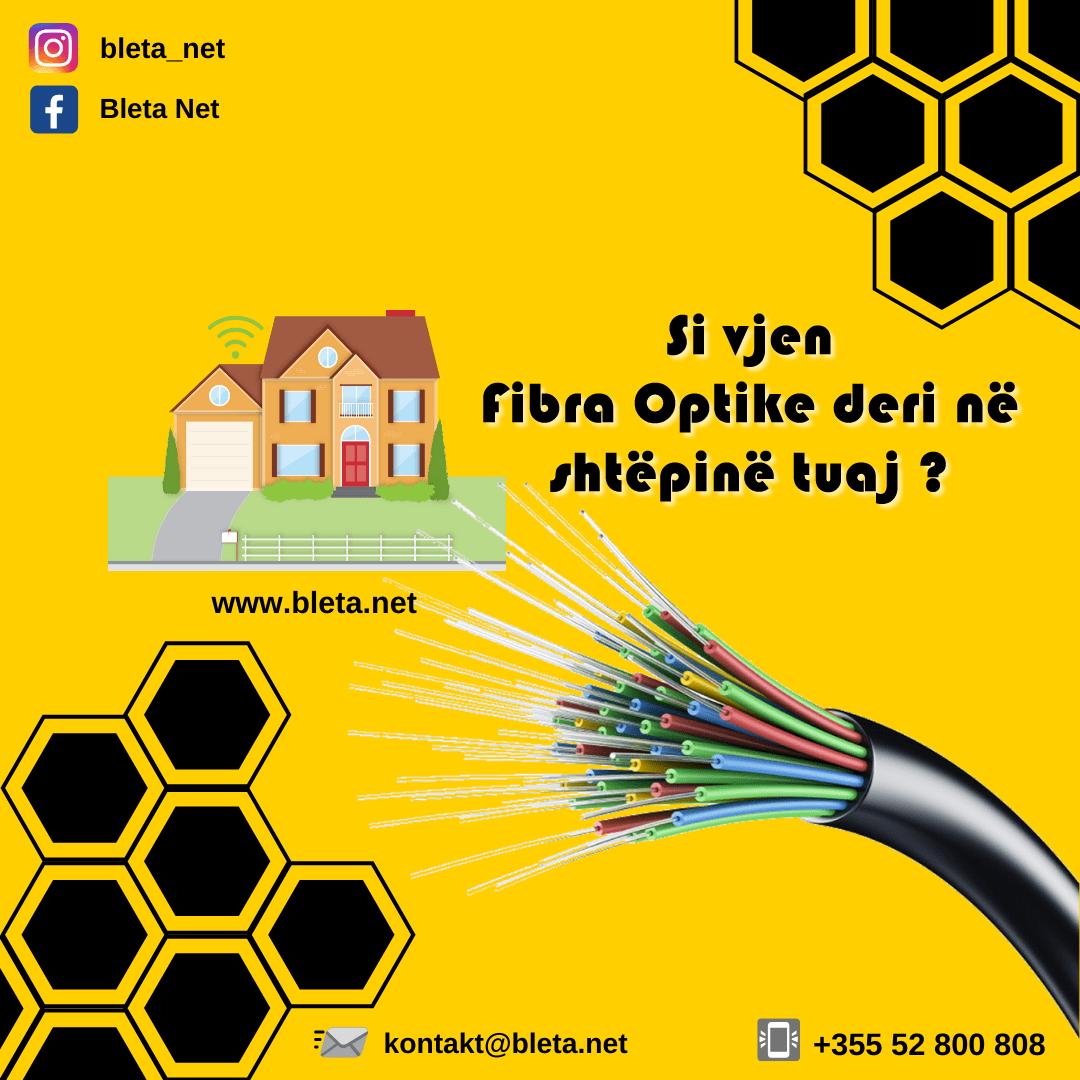 si vjen fibra optike deri ne shtepine tuaj