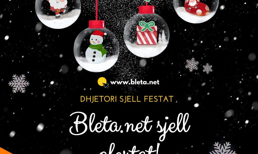 Dhjetori sjell Festat , Bleta.net sjell ofertat!