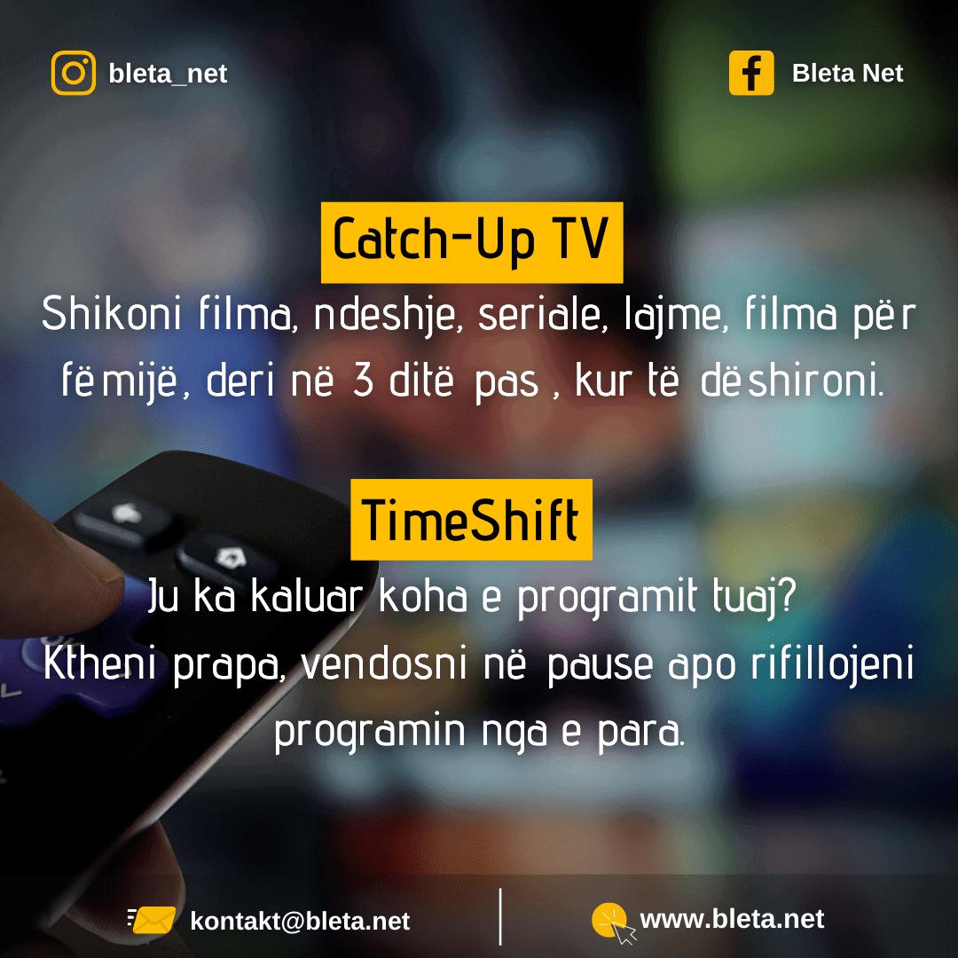 CATCH-UP-TV dhe TIMESHIFT